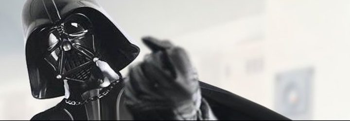Darth Vader icónico personaje de la saga