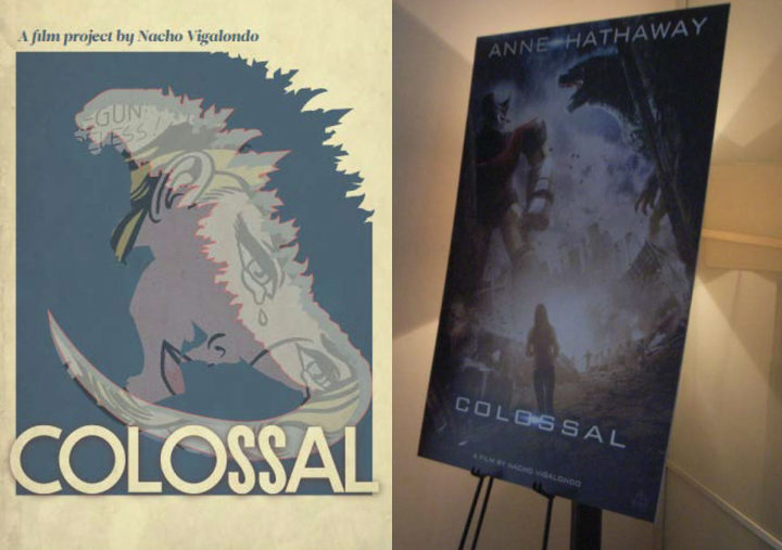 Material de pitching de 'Colossal'