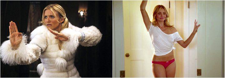 Cameron Díaz, antes y después