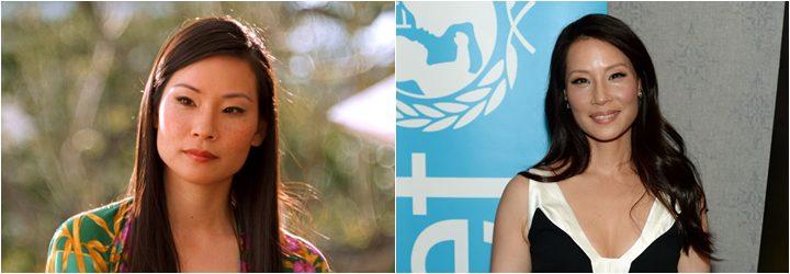 Lucy Liu, antes y después