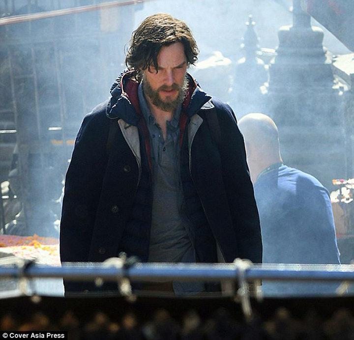 Benedict Cumberbatch como 'Doctor Extraño'