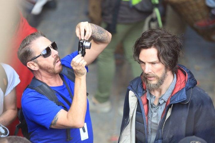 Benedict Cumberbatch rodaje 'Doctor Extraño'