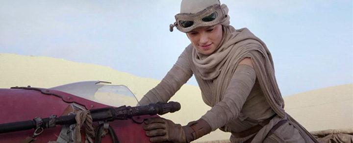 Daisy Ridley es Rey en 'Star Wars: El despertar de la Fuerza'