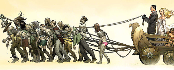 El cómic 'Empire Of The Dead' de George Romero