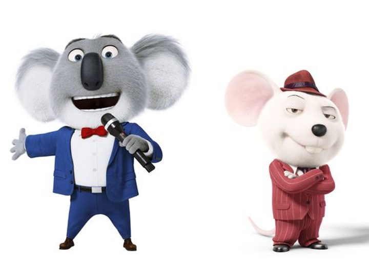 Buster Moon y Mike de 'Sing'