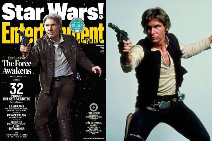 Harrison Ford en Entertainment Weekly