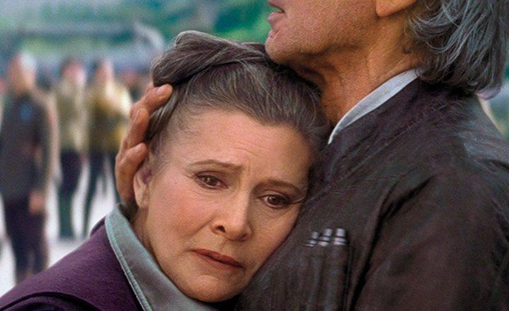 Carrie Fisher en 'El despertar de la fuerza'