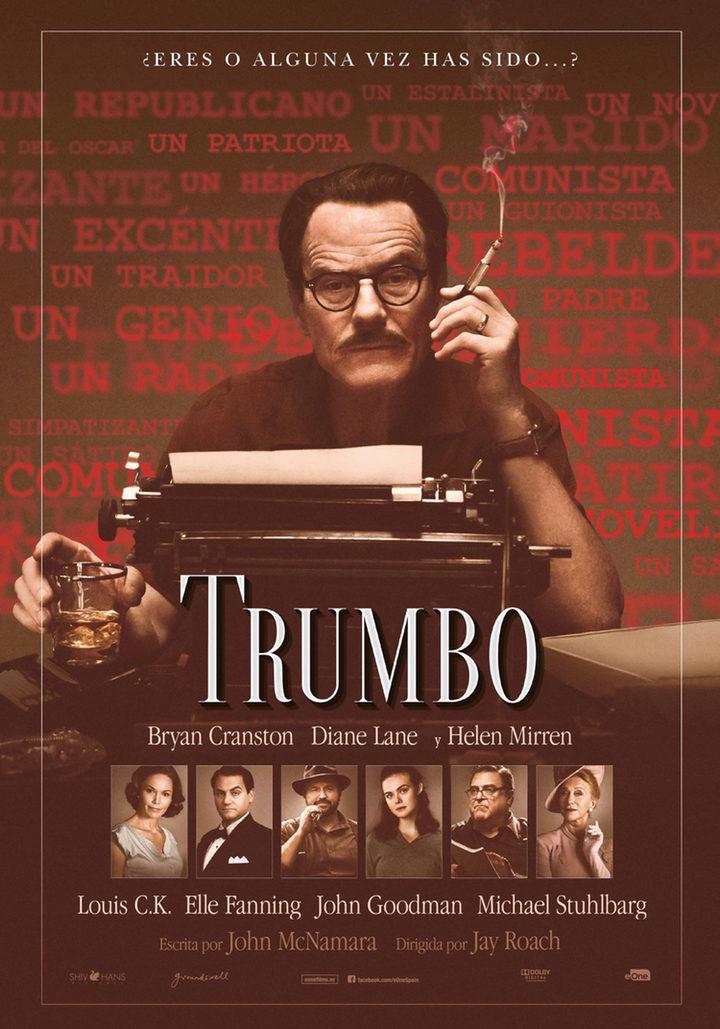 Cartel en español, exclusiva para eCartelera, de 'Trumbo'
