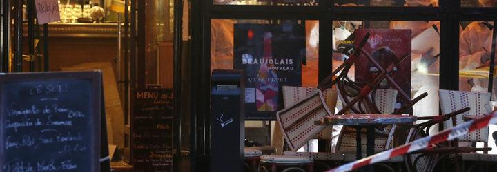 Atentado en Comptoir Voltaire, en París