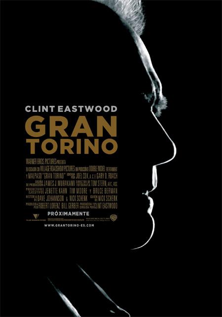 Teaser Poster en español para 'Gran Torino'