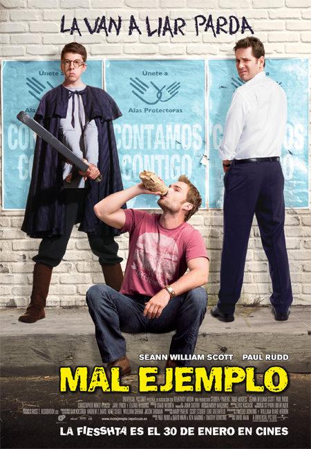 Cartel en castellano de 'Mal ejemplo'