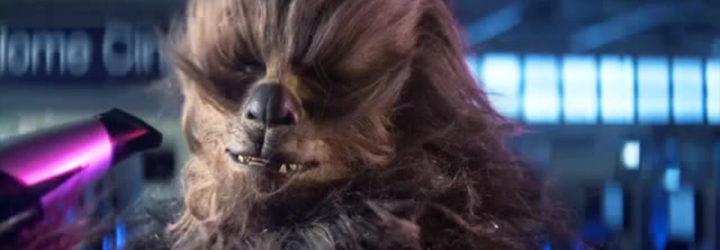 Chewbacca en un anuncio