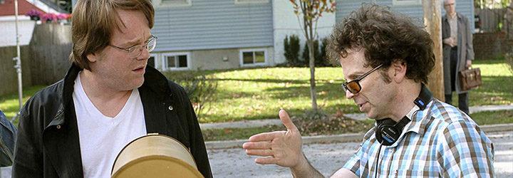 Philip Seymour Hoffman y Charlie Kaufman