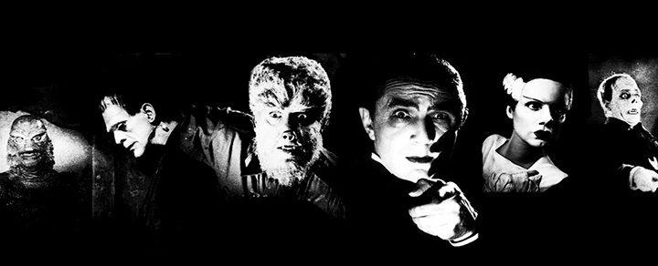 Los monstruos de Universal Pictures