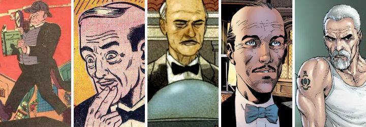 Alfred en el cómic