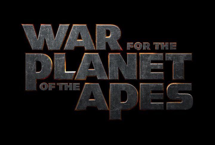 Logo 'La Guerra del Planeta de los Simios