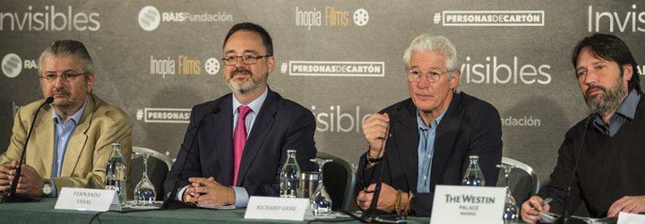 Rueda de prensa 'Invisibles' con Richard Gere