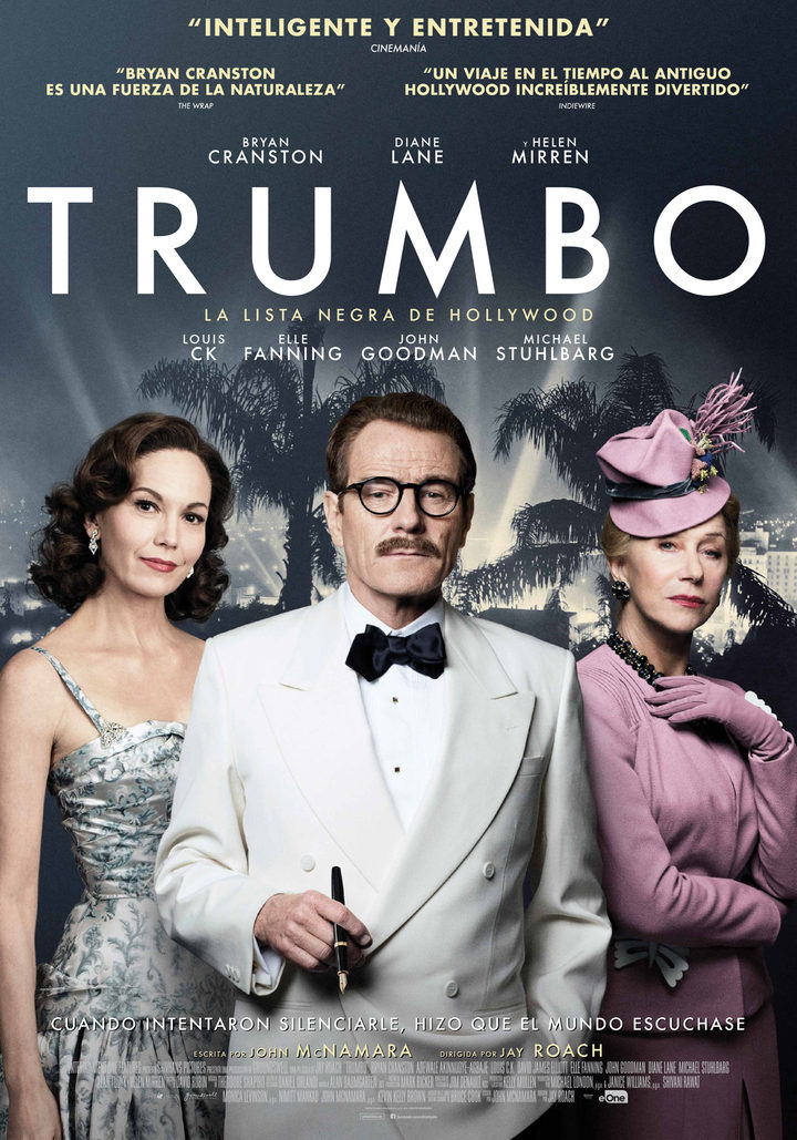 Cartel final español de 'Trumbo'