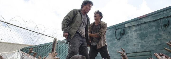 Imagen de Glenn en el capítulo de 3 de la temporada 7 de 'The Walking Dead'
