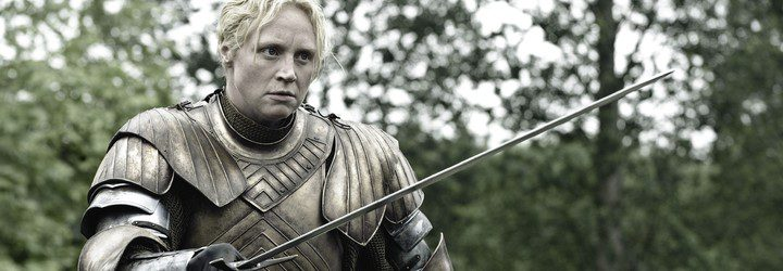 Brienne de Tarth en 'Game Of Thrones'