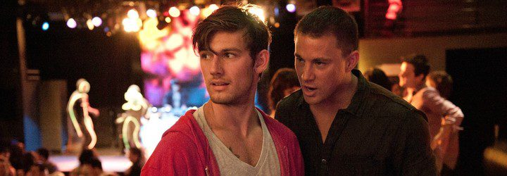 Tatum y Pettyfer en 'Magic Mike'