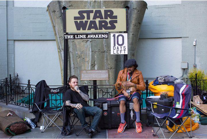Fans 'Star Wars: Episodio VII- El despertar de la Fuerza'