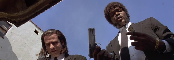 Samuel L. Jackson y John Travolta en 'Pulp Fiction'