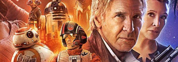 Detalle del póster de la última película de Star Wars