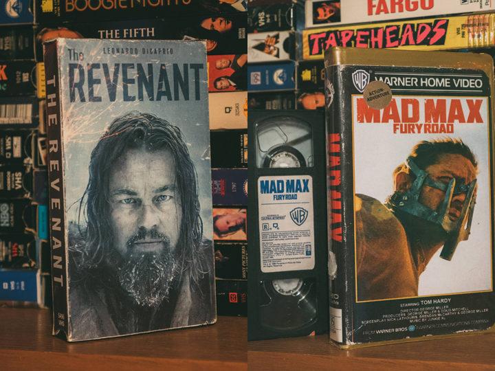 Un cinéfilo convierte películas de los últimos años en su formato VHS