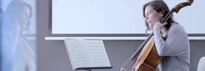 Escena de 'Sonata para violonchelo'