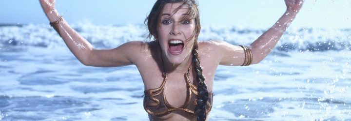 Carrie Fisher es Leia