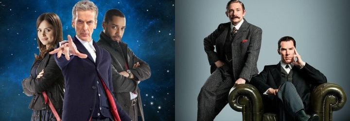 Imágenes promocionales de 'Doctor Who' y 'Sherlock'