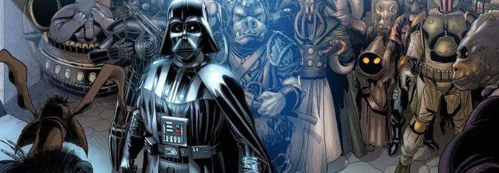 'Vader Down' cómic