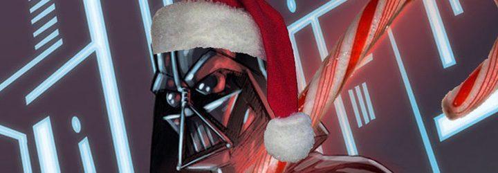 Darth Vader navideño