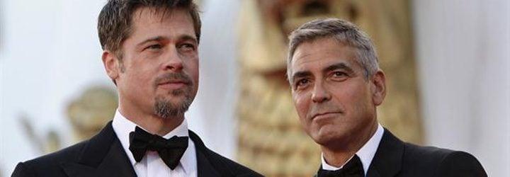 George Clooney y Brad Pitt