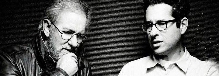 Steven Spielberg y J. J. Abrams juntos en una sesión de fotos
