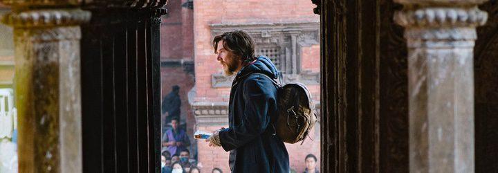 Benedict Cumberbatch en el rodaje de 'Doctor Extraño'