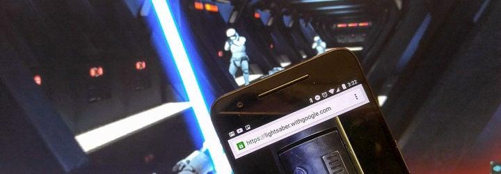 'Star Wars' juego de Chrome
