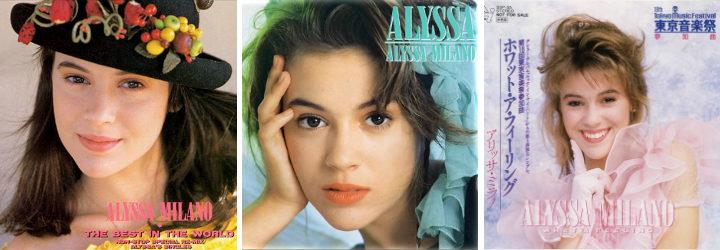 Portadas de discos de Alyssa Milano