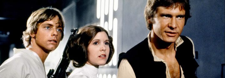 Mark Hamill, Carrie Fisher y Harrison Ford serán recordados por sus papeles en la saga 'Star Wars'