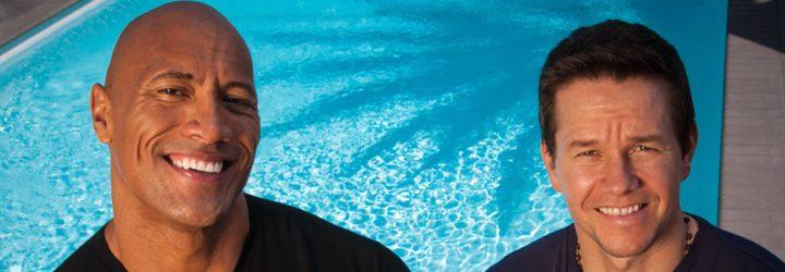 Dwayne Johnson y Mark Wahlberg