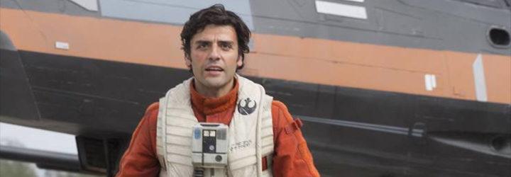 Oscar Isaac en 'Star Wars: El despertar de la fuerza'