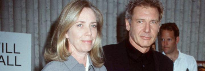 Melissa Mathison y Harrison Ford