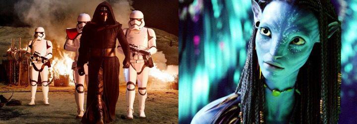 Star Wars y Avatar