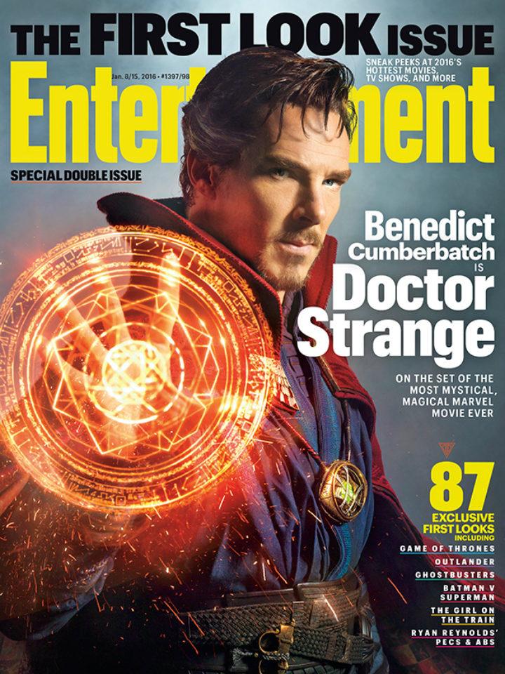 Primera imagen oficial 'Doctor Extraño'