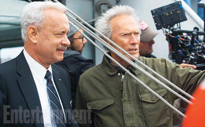 Clint Eastwood y Tom Hanks en 'Sully'