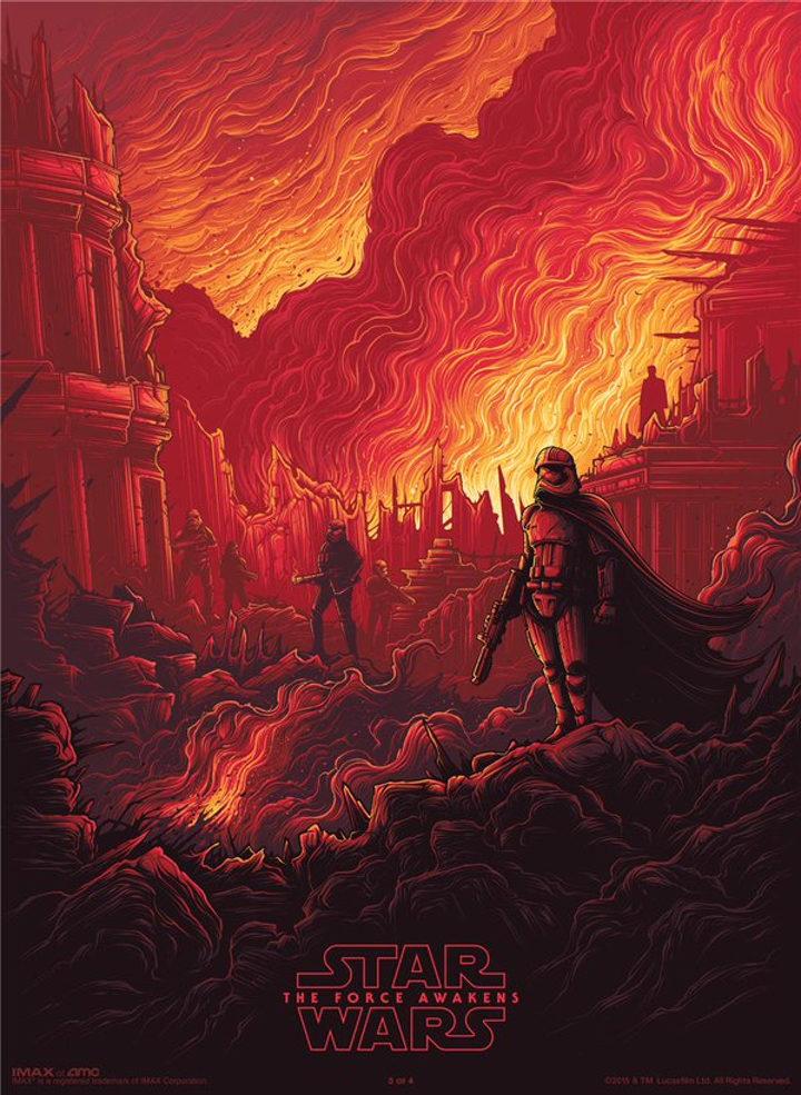 Nuevo poster IMAX de 'Star Wars: El despertar de la fuerza'