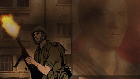 Unas cuantas imágenes de 'Vals con Bashir'