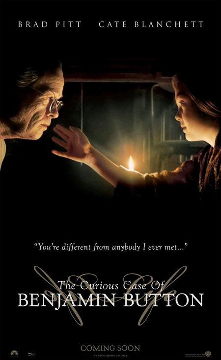 7 nuevos carteles para 'El curioso caso de Benjamin Button'