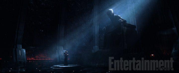 Snoke en El Despertar de la Fuerza